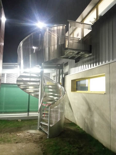 Escalier Amazon escalier hélicoïdal serrurerie amazon saran - cobaplis